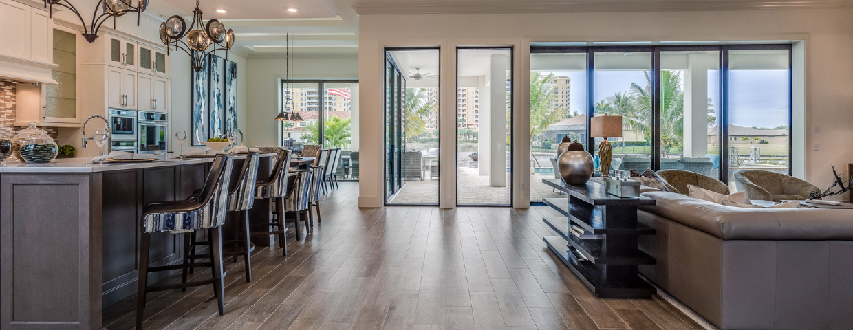 Shiny new floors